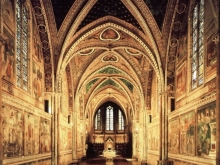 BASILICA SAN FRANCESCO ASSISI INTERNI