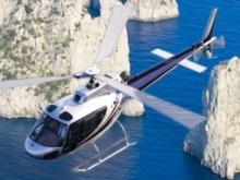 Capri in elicottero
